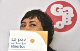 Nubia E. Rojas, redactora del libro. Fotografía: Guillermo Legaria.
