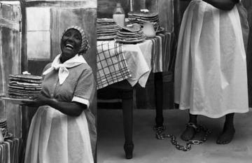 ¿Es real esta fotografía de la célebre Aunt Jemima atrapada con grilletes en tiempos de la esclavitud?... ¡Responde nuestro quiz de noticias!