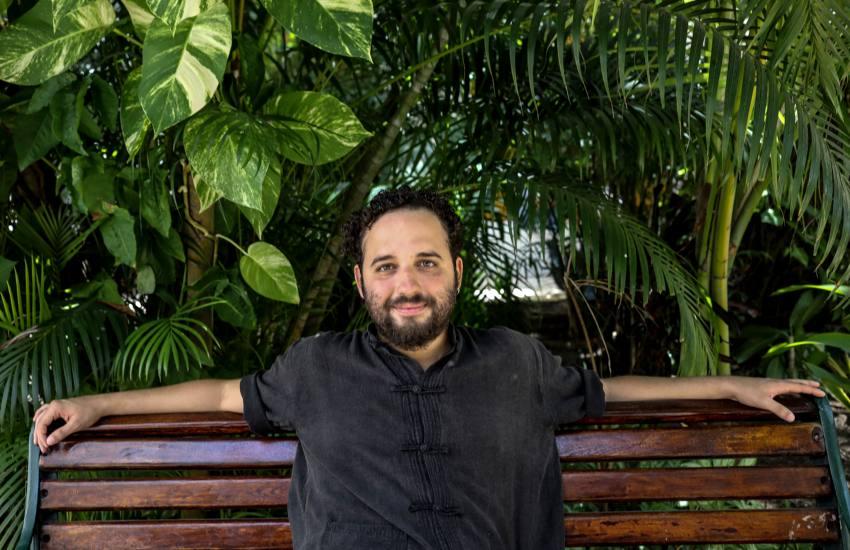 Nelson Carlo de los Santos. Foto: Joaquín Sarmiento.