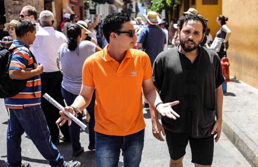 Yoel Suárez y Nelson Carlo de los Santos. Foto: Joaquín Sarmiento