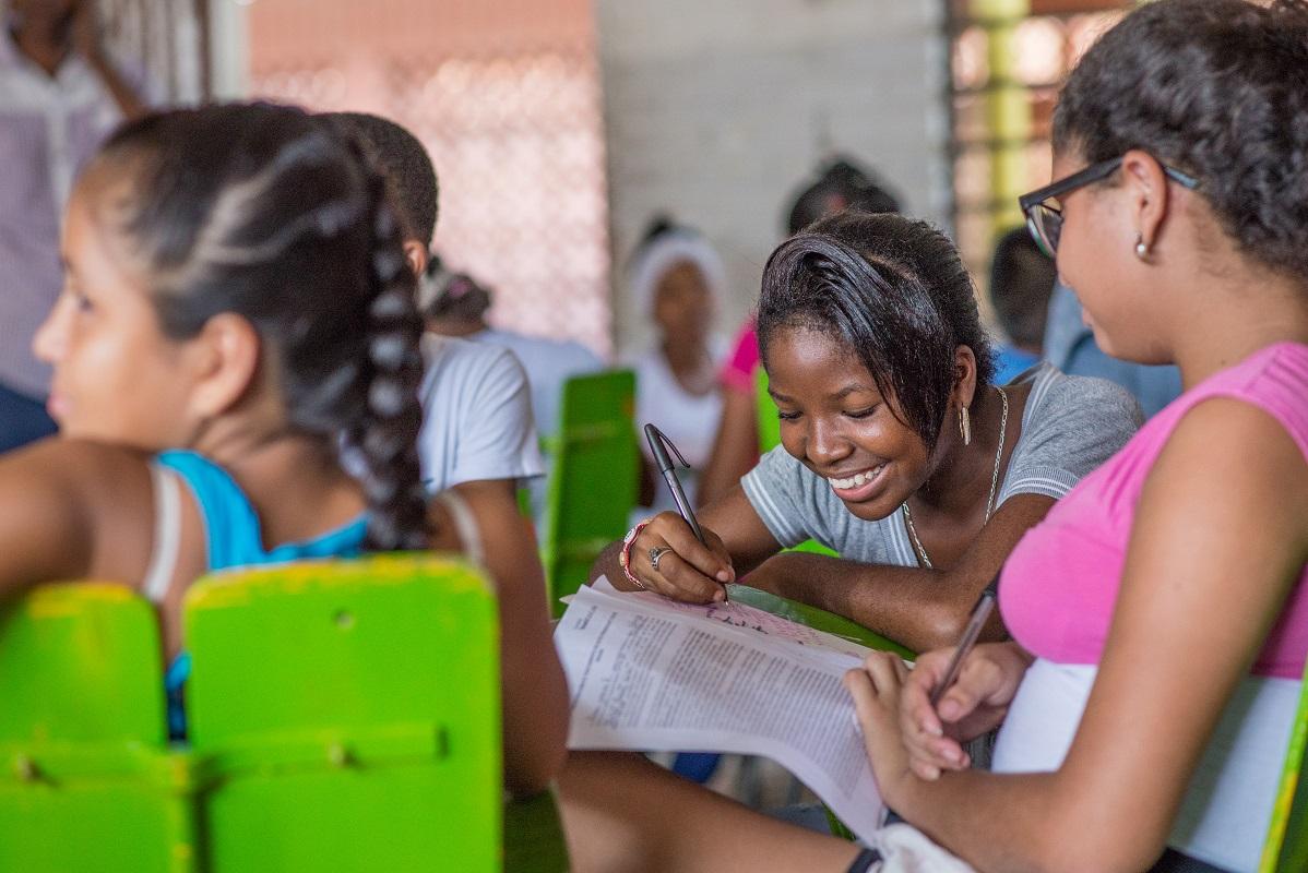El grupo estará conformado por alumnos de 13 a 16 años de la Institución Educativa Bertha Suttner. - Foto: Fundación Tenaris TuboCaribe