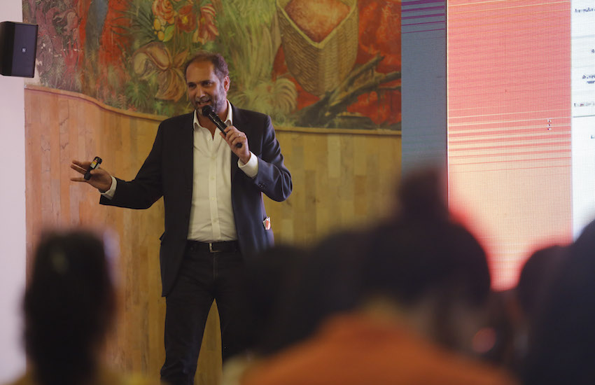 El periodismo de soluciones cubre respuestas a problemas sociales. En estos talleres se abordará la aplicación de esta modalidad a temas de salud. Foto: David Estrada Larrañeta - Fundación Gabo.