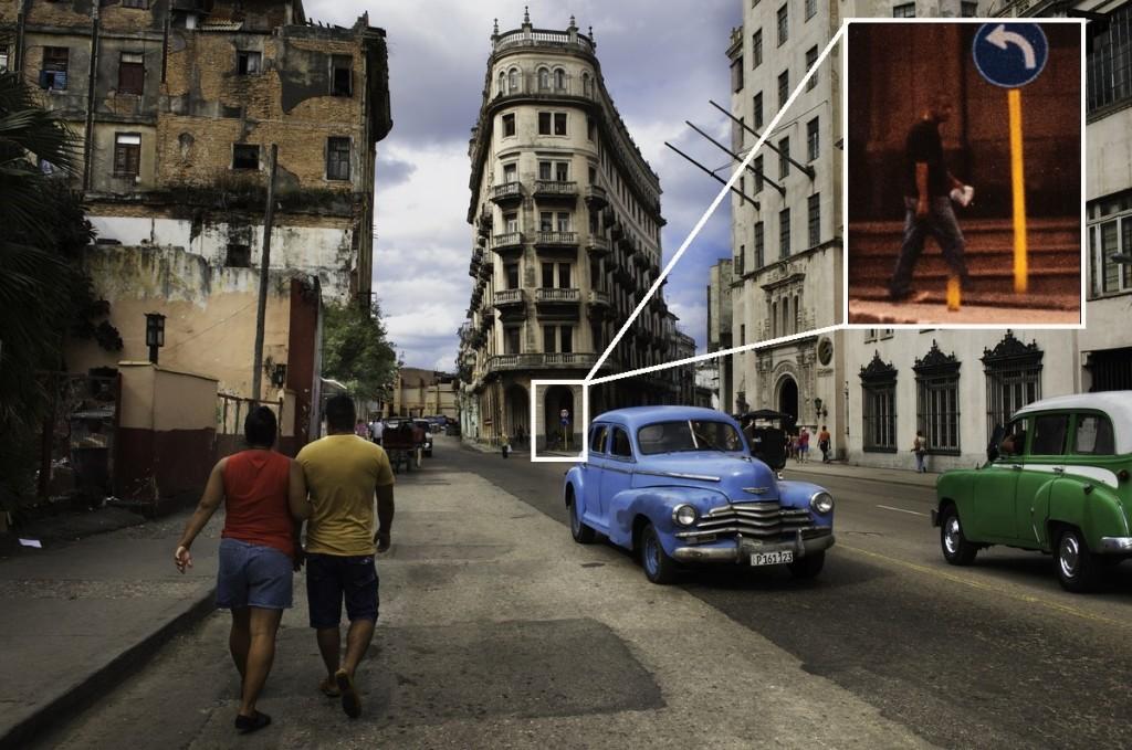 La fotografía de La Habana que desató la controversia. Edición: @eticasegura