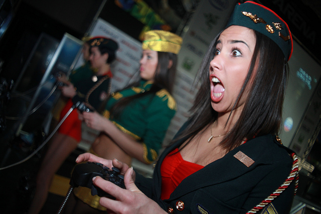 ¿Es machista la industria de los videojuegos? / Foto: Sergey Galyonkin en Flickr / Usada bajo licencia Creative Commons