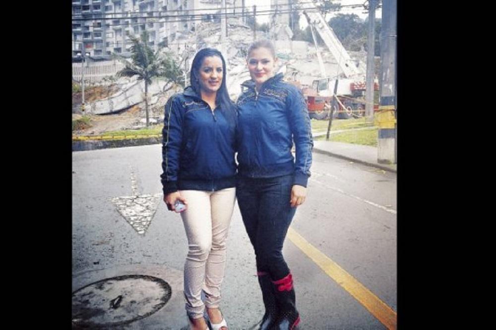 Yusy Chaparro y María Victoria López