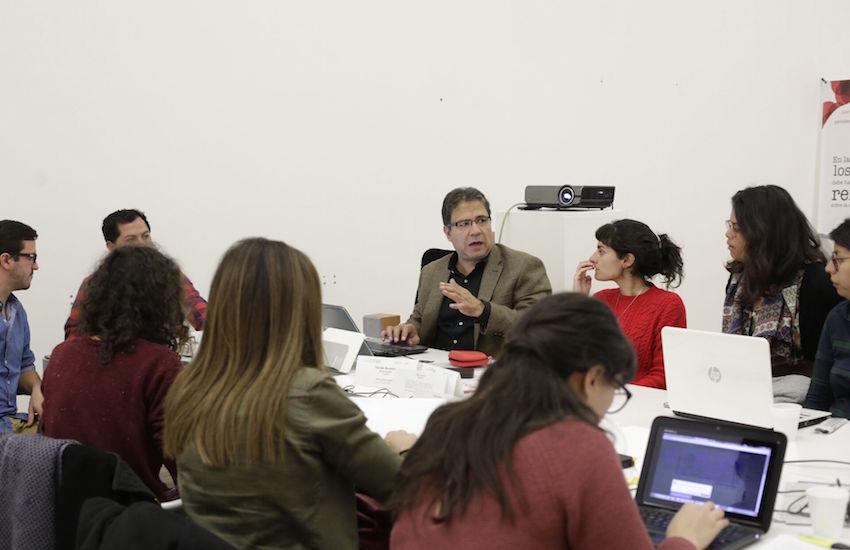 Segundo día del taller de crónica en Buenos Aires. Foto: Vera Rosemberg/ FNPI.