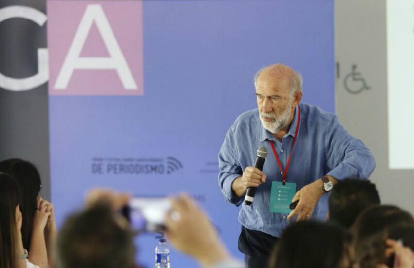 Adelino Gomes en el Festival Gabo | Fotografía: David Estrada Larrañeta