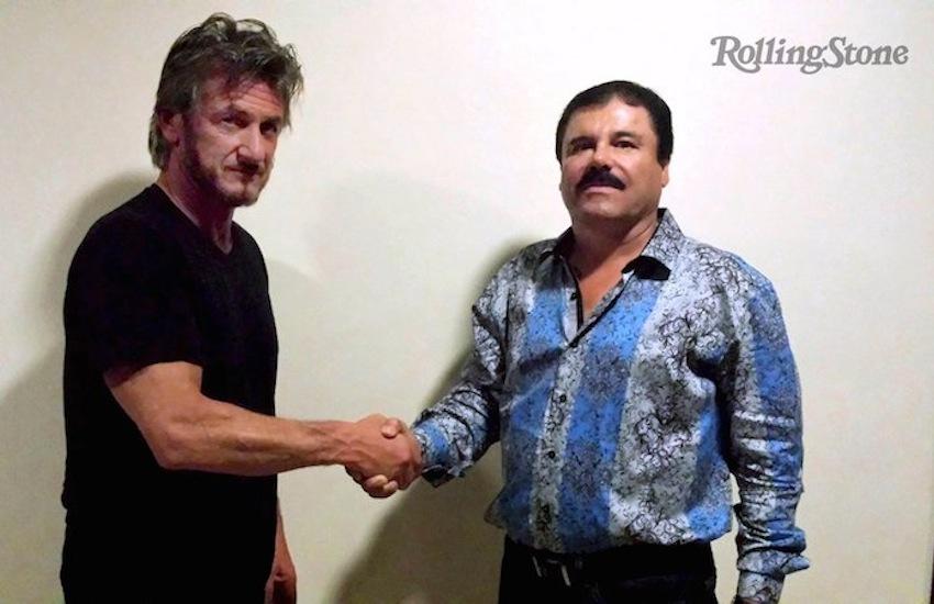 Sean Penn y el Chapo Guzmán / Rolling Stone