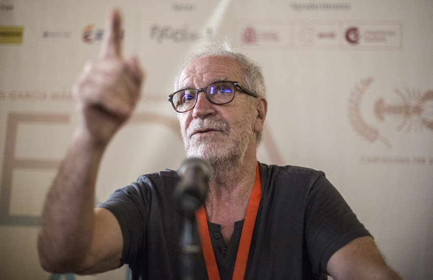 Javier Aguirresarobe, director de fotografía español. Foto: David Estrada Larrañeta / FNPI