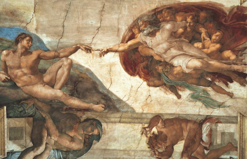 Las grandes obras de Miguel Ángel, como la bóveda de la Capilla Sixtina, no habrían sido posibles sin el apoyo de mecenas.
