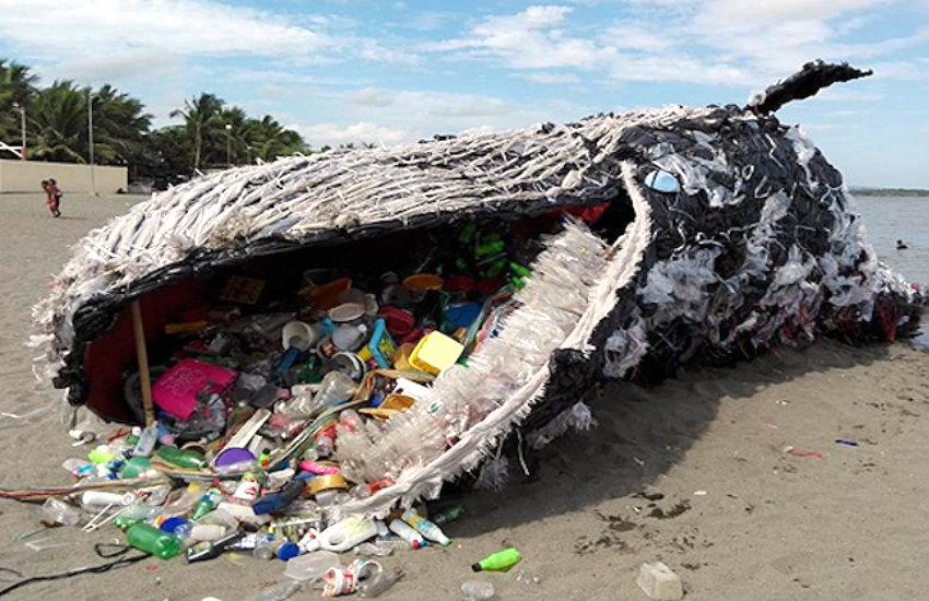 ¿Es real esta ballena varada llena de residuos plásticos?... ¡Responde nuestro quiz de noticias!