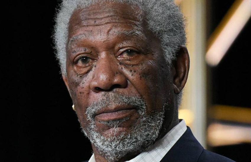 El actor Morgan Freeman. Fotografía: Calfan24 en Wikimedia Commons   Usada bajo licencia Creative Commons
