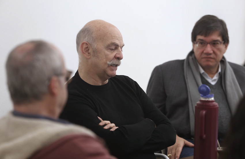 Martín Caparrós, maestro del Taller de libros periodísticos. / Foto: Gonzalo Martínez.