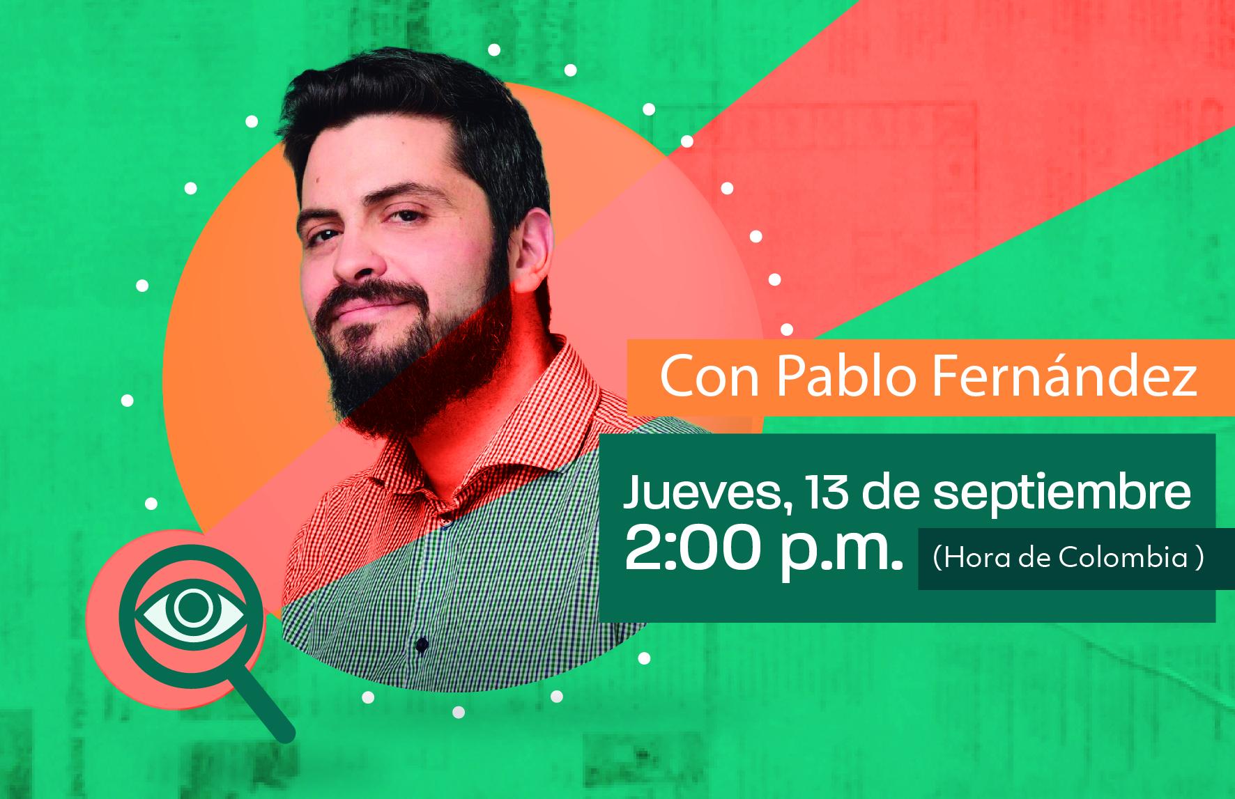 El seminario web también será transmitido en vivo por Facebook.com/RedEticaFNPI