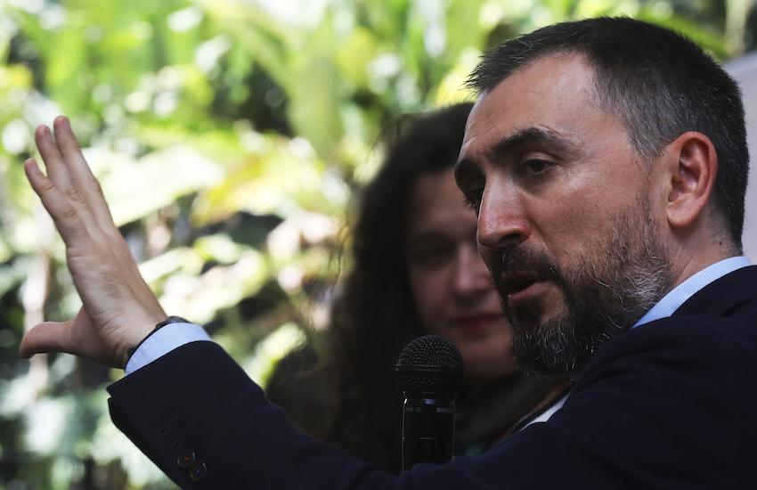 Ignacio Escolar, director de eldiario.es. Foto: Joaquín Sarmiento / FNPI.