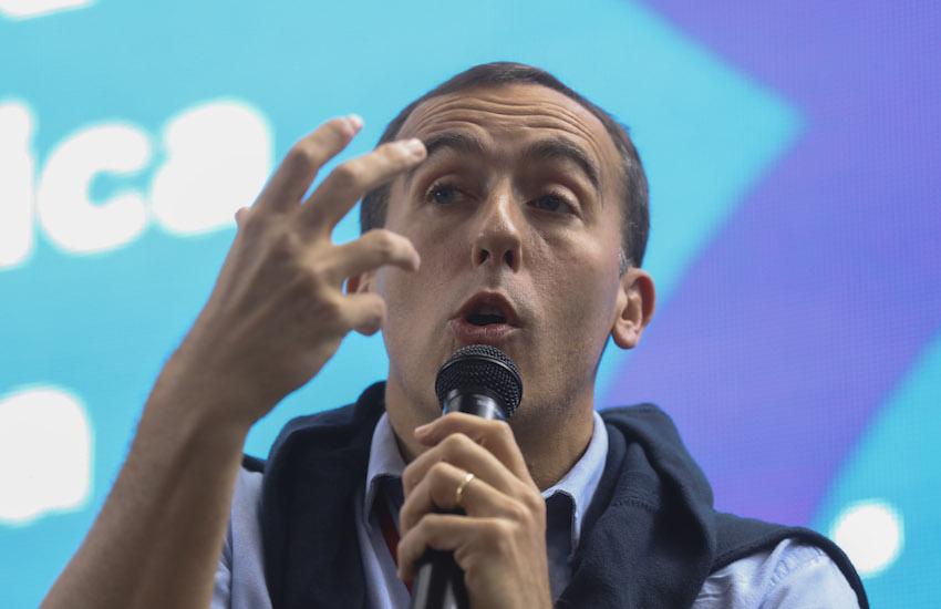 Hugo Alconada Mon, prosecretario de redacción de La Nación (Argentina). Foto: Joaquín Sarmiento / FNPI.