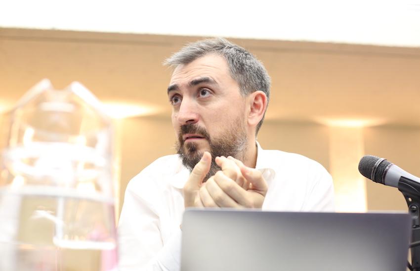 Ignacio Escolar, director de eldiario.es. Foto: Felipe Luna / FNPI.