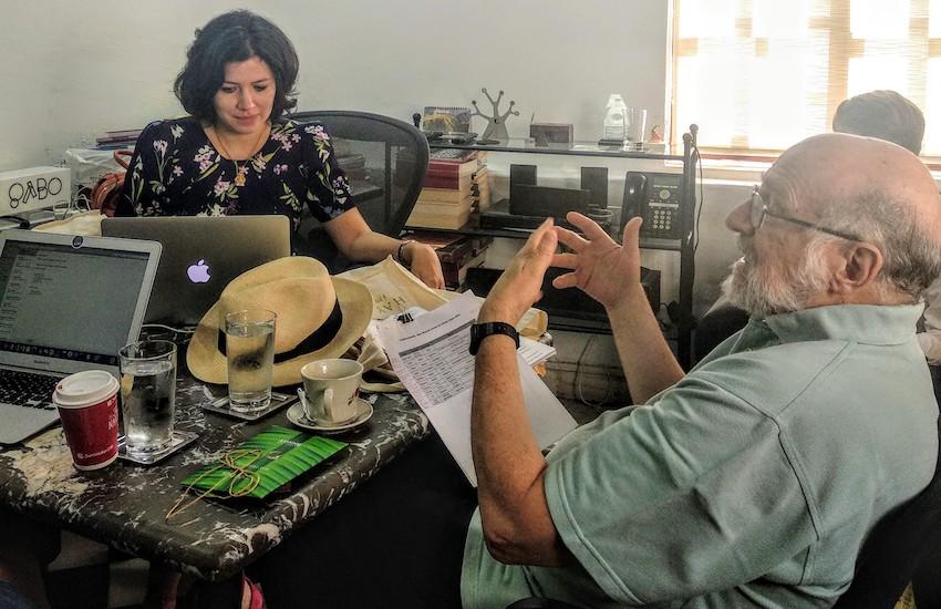 El jurado se reunió en las oficinas de la FNPI en Cartagena.