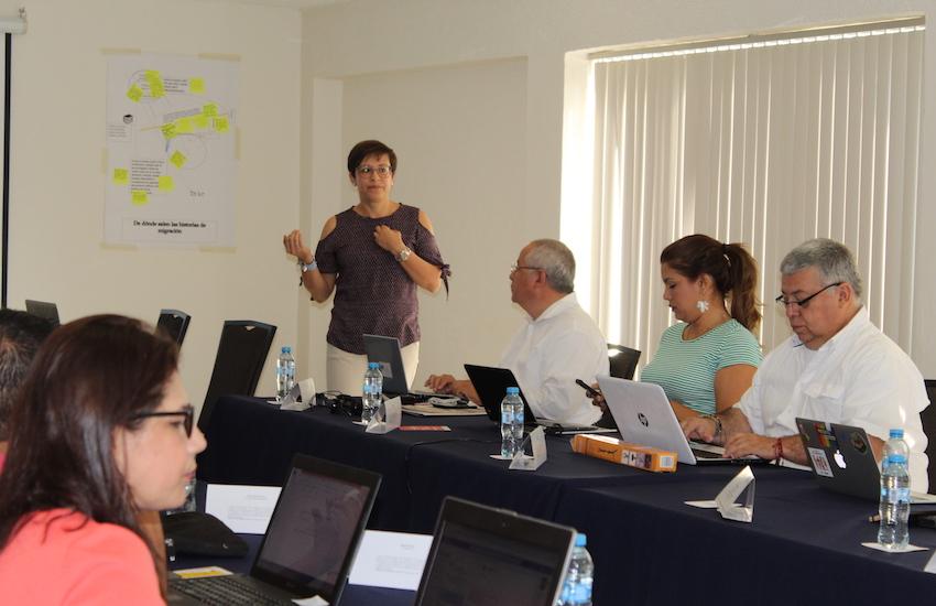 Cynthia Loría Picado, gerente programática de Fundación Avina. Foto: Carlos Quintero Juan / FNPI.