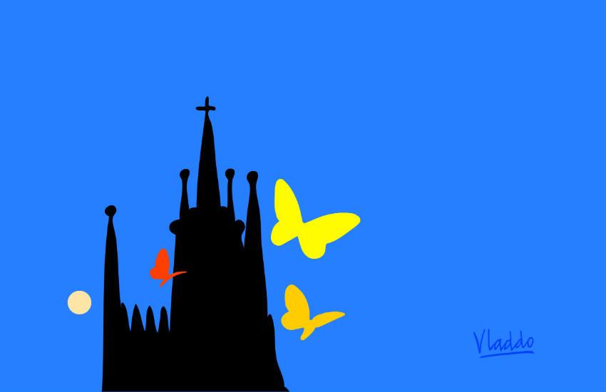 Imagen oficial del evento 'El rastro de Gabo'. Ilustración: Vladdo.
