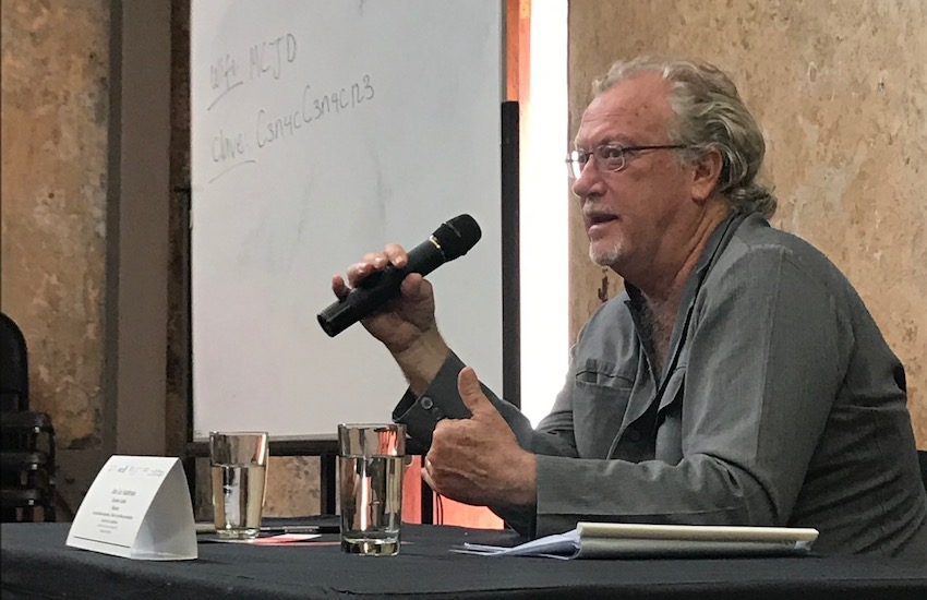 Jon Lee Anderson, reportero de The New Yorker y miembro del Consejo Rector de la FNPI.