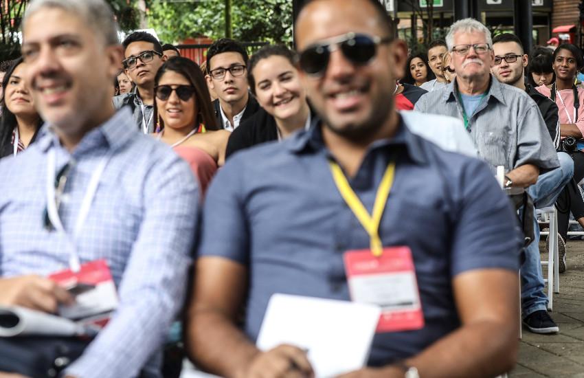 La mayoría de charlas del Festival Gabo se podrán ver en vivo a través de Facebook Live. Fotografía: Fundación Gabo.