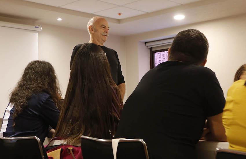 Martín Caparrós, miembro del Consejo Rector de la Fundación Gabo.. Foto: Feria Internacional del Libro de Oaxaca .