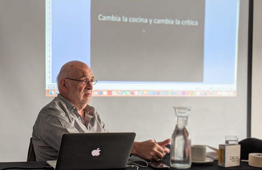 Ignacio Medina dirigió el seminario Periodismo gastronómico, que se realizó del 6 al 9 de noviembre en el marco del Bogotá Madrid Fusión.