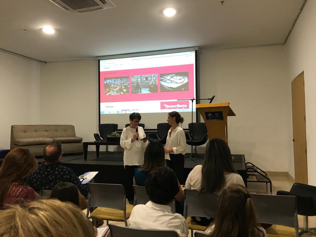 María José Restrepo en el III Encuentro Regional de la Alianza Colombia Ética.