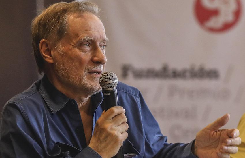 Jean-François Fogel. Foto: Joaquín Sarmiento / Fundación Gabo.