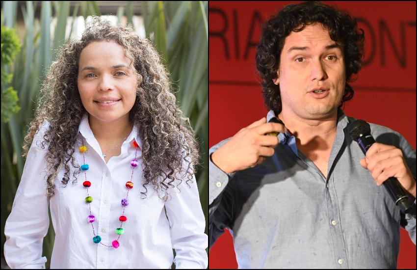 Ginna Morelo y Juan Camilo Maldonado. Foto: Archivo Fundación Gabo.