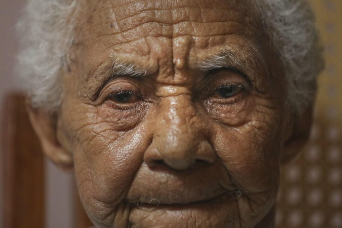 María Magdalena Bolaños cuidó a Gabo cuando niño en Aracataca. Foto: Joaquín Sarmiento.