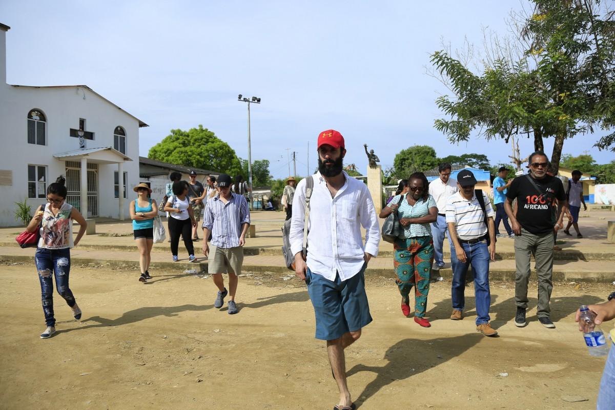 La Beca reunió a un grupo internacional de periodistas y les ofreció fundamentos conceptuales para entender el aporte de la africanía a la cultura Caribe contemporánea.