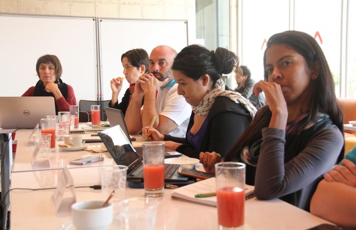 Participantes del taller. Foto: Mateo G. Rivas / FNPI