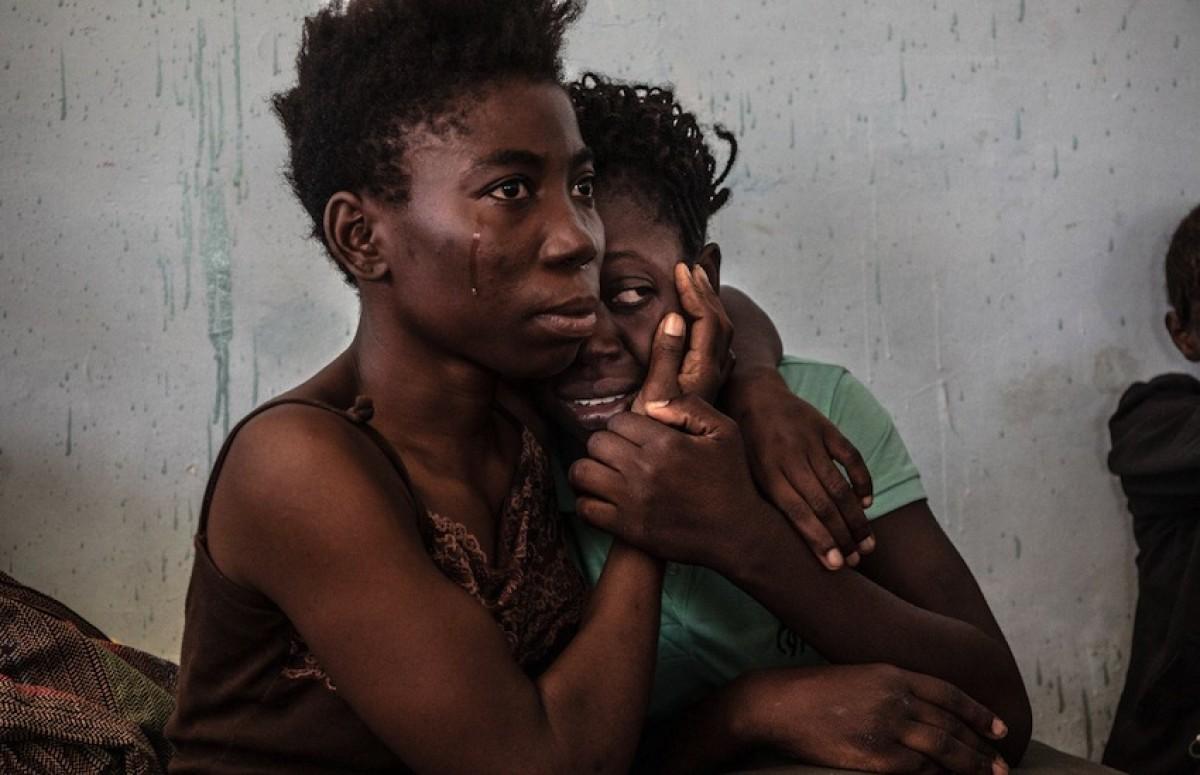 1. 'Libia: una trampa para migrantes'. Foto: Daniel Etter / Der Spiegel.