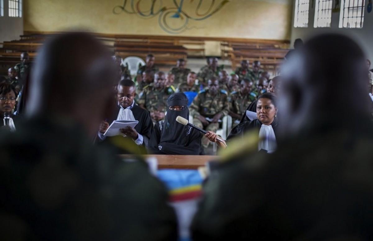 2. 'Los juicios por violación de Minova'. Foto: Diana Z. Alhindawi.
