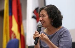 María Teresa Ronderos, directora del Centro Latinoamericano de Investigación Periodística (CLIP). Foto: Universidad del Norte.