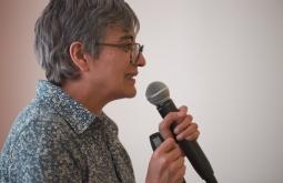 Olga Lucía Lozano. Foto: Archivo Fundación Gabo.