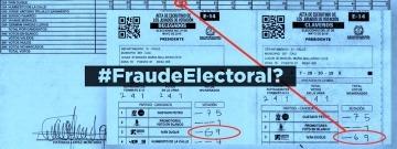 #FraudeElectoral