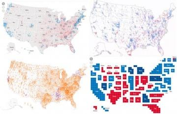 Los medios hicieron un esfuerzo extra por lograr mayor precisión y detalle en sus gráficos.