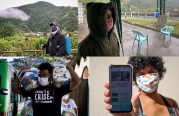 La comunidad de Río Verde, en Ecuador, y las favelas del Complexo do Alemão, de Brasil, se ha organizado para evitar la propagación del virus, en medio de la falta de presencia estatal.
