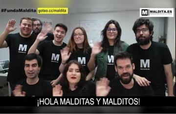 El equipo de Maldita.es no pasa de 20 miembros, incluidos sus fundadores.