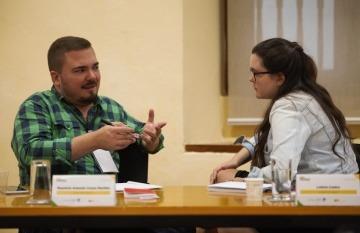 Periodistas de América Latina se reúnen en Cartagena para intercambiar experiencias sobre el enfoque de periodismo de soluciones. Foto: Emmanuel Upegui - FNPI.