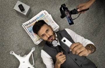 Yusuf Omar, cofundador de Hashtag Our Stories, que cuenta historias globales desde la perspectiva de las personas. Foto: Yusuf Omar.