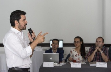 Ernesto Cortés Fierro, editor jefe de El Tiempo. Foto: David Estrada Larrañeta / FNPI.
