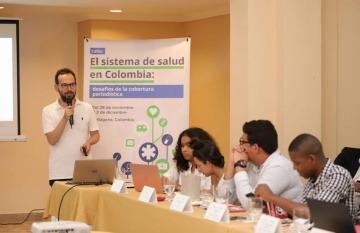 Pablo Correa, editor de temas ambientales, salud y ciencia en El Espectador. Foto: FNPI.