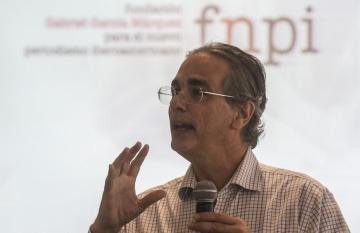 Luis Miguel González, director editorial de El Economista (México). Foto: Joaquín Sarmiento / FNPI.