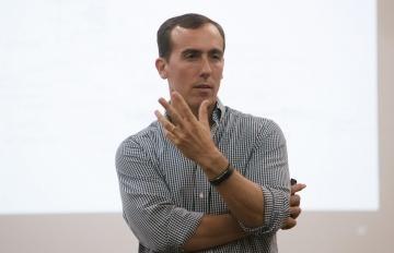 Hugo Alconada Mon, prosecretario de redacción de La Nación (Argentina). Foto: Archivo Fundación Gabo.
