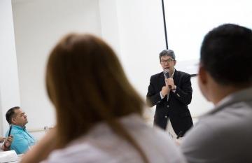 Carlos Francisco Fernández, asesor médico de la Casa Editorial El Tiempo. Foto: Archivo Fundación Gabo.