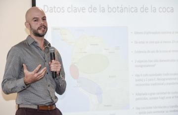 David Restrepo, investigador del Centro de Estudios sobre Seguridad y Drogas (CESED) . Foto: Archivo Fundación Gabo.